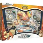 Pokemon Box Evoluções Eevee-GX Flareon-GX - Copag