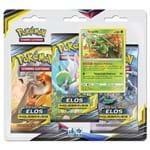 Pokemon Cartas - Sol e Lua 10 - Elos Inquebráveis - Sceptile - Blister Triplo com 19 Cards - COPAG