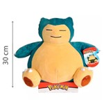 Pokemon Pelúcia Snorlax 30 Cm - Dtc