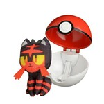 Pokemon Pokebola - Pop Action - Litten