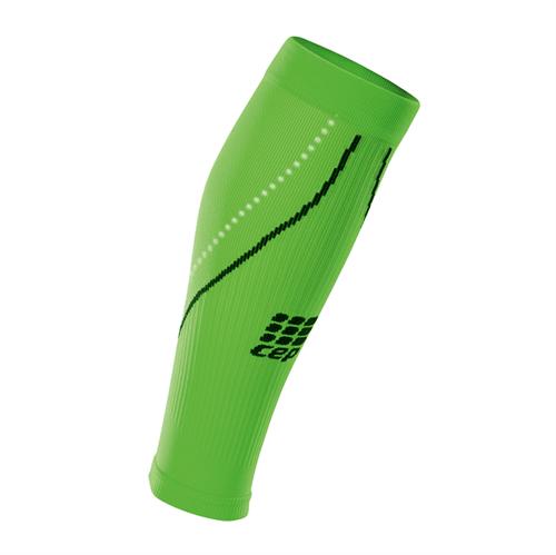 Polaina de Compressão CEP Night Calf Sleeves 2.0 Masculino - Verde / Preto