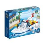 Polícia Barco 62 Peças - Banbao