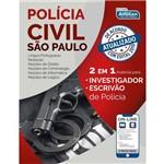 Polícia Civil de São Paulo - PC SP - 2 em 1 - Investigador e Escrivão de Policia