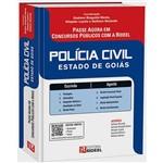 Polícia Civil: Estado de Goiás - Passe Agora em Concursos Públicos com a Rideel