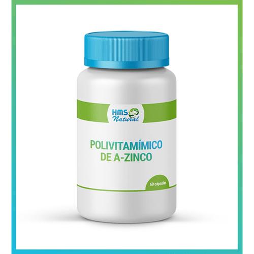 Polivitamínico de A-zinco Cápsulas 60cápsulas