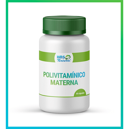 Polivitamínico Materna Cápsulas Vegan 60 Cápsulas