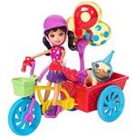 Polly Pocket Bicicleta Aventura Pet - Mattel