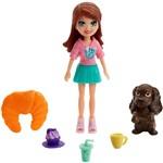 Polly Pocket Bon Café dos Bichinhos Lila - Mattel