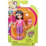 Polly Pocket Boneca Básica Crissy com Bichinho - Mattel