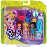 Polly Pocket 3 Bonecas Aventura na Água - Mattel