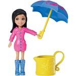 Polly Pocket - Bonecas Diversão na Chuva Dhy33/dhy36 Chuva e Sol Crissy - Mattel