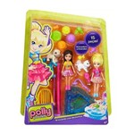 Polly Pocket Brincando com Bichinhos DHY67/2 - Mattel