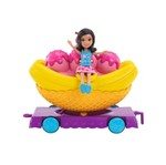 Polly Pocket - Carrinho Carrinho de Banana Split - Mattel