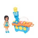 Polly Pocket - Carrinho de Pipoca Crissy - Mattel