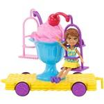 Polly Pocket Carrinhos de Carnaval Sundae Swing - Mattel