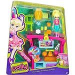 Polly Pocket Churrasco Divertido com Botão Surpresa Dnb53 Mattel