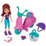 Polly Pocket Conjunto Scooter Lila Piquenique Divertido Fpj12 Mattel