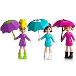 Polly Pocket - Estações da Polly - Diversão na Chuva - Mattel