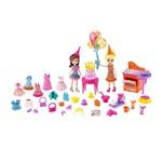 Polly Pocket - Festa de Aniversário da Polly - Mattel Polly Pocket - Festa Brilhante - Mattel