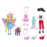 Polly Pocket Kit Cachorro Fantasias - Mattel