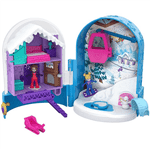Polly Pocket - Kit Mundo da Mini Polly - Bola de Neve Surpresa Fry37 - MATTEL