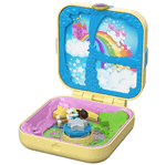 Polly Pocket - Playset e Mini Boneca - Mundo de Unicórnio Gdk78 - MATTEL