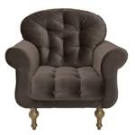 Poltrona Cadeira Dani para Recepção Sala Escritório Quarto Suede Roxo - AM DECOR