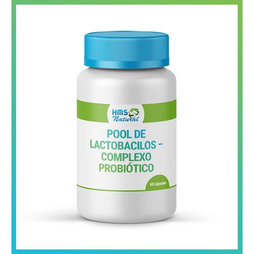 Pool de Lactobacilos – Complexo Probiótico 60cápsulas