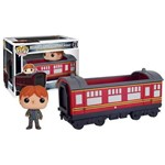 Pop! Rides Harry Potter: Hogwarts Express Carriage com Ron Weasley - Funko