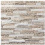 "Porcelanato ""A"" 59X59 Stone Patch Natural Acetinado Eliane"