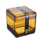 Porta Algodão/cotonetes Cube Mel 20879/0456