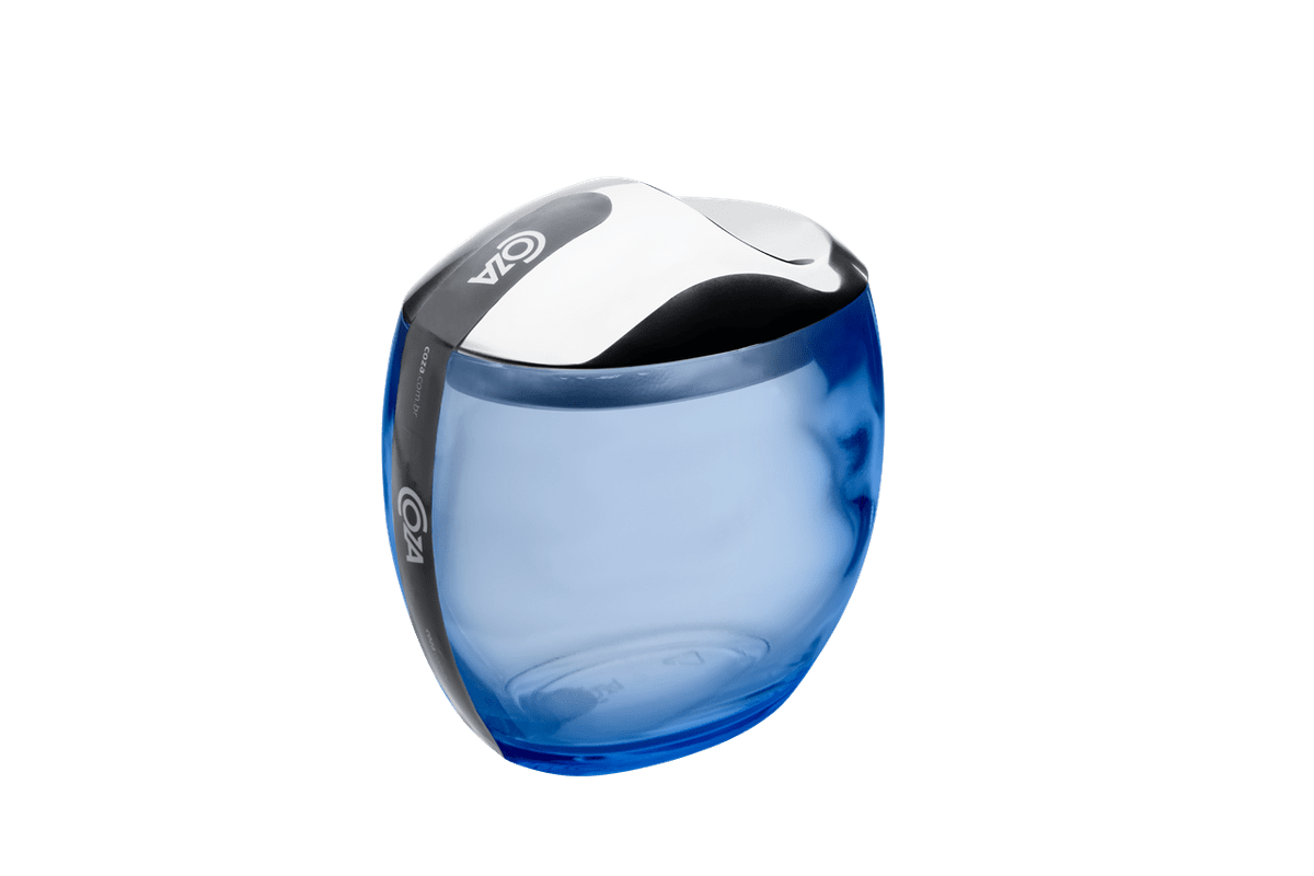 Porta Algodão/Cotonetes - Spoom Classic 10,8 X 10,6 X 8,5 Cm Azul Coza