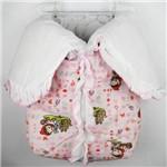 Porta Bebê Feminino Rosa Estampado Mônica