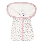 Porta Bebê Flamingo 100% Algodão