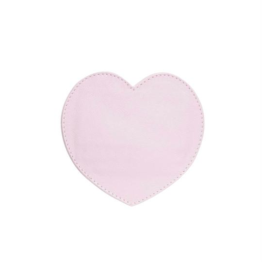 Porta Cartão Coração Lilas Rosado