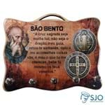 Porta Chave - Medalha de São Bento | SJO Artigos Religiosos