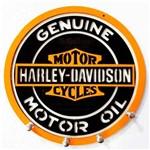 Porta Chaves Mdf Harley Davidson Genuine