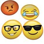 Porta Copos Emoticons Emojis Divertidos