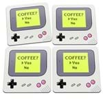 Porta Copos Game Boy Coffee Yes Joystick Café