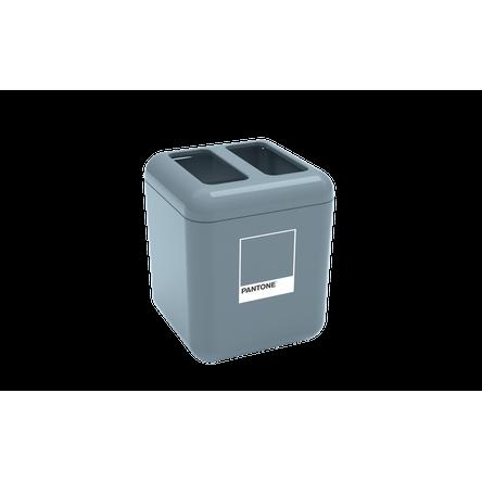 Porta Escova - Cube 8,5 X 8,5 X 10,5 Cm Azul Pantone Coza