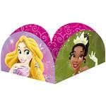 Porta Forminha 9,5x9,5cm Princess Debut com 50 Unidades - Regina Festas