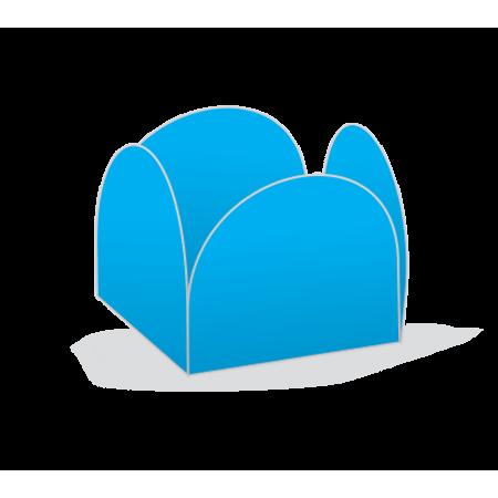 Porta Forminha P/ Doces Azul Porta Forminha para Doces Azul - 50 Unidades