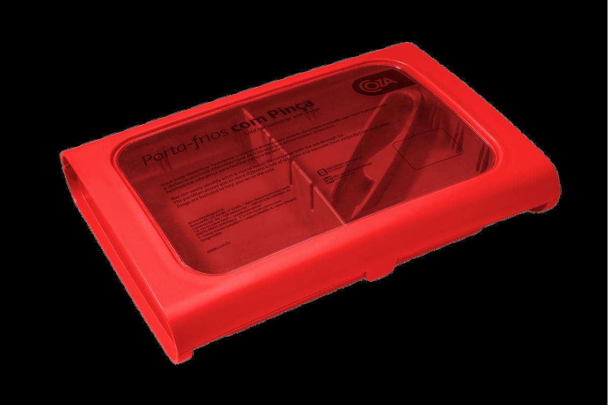 Porta-Frios com Pinça Casual 24 X 17 X 5 Cm Pimenta Coza