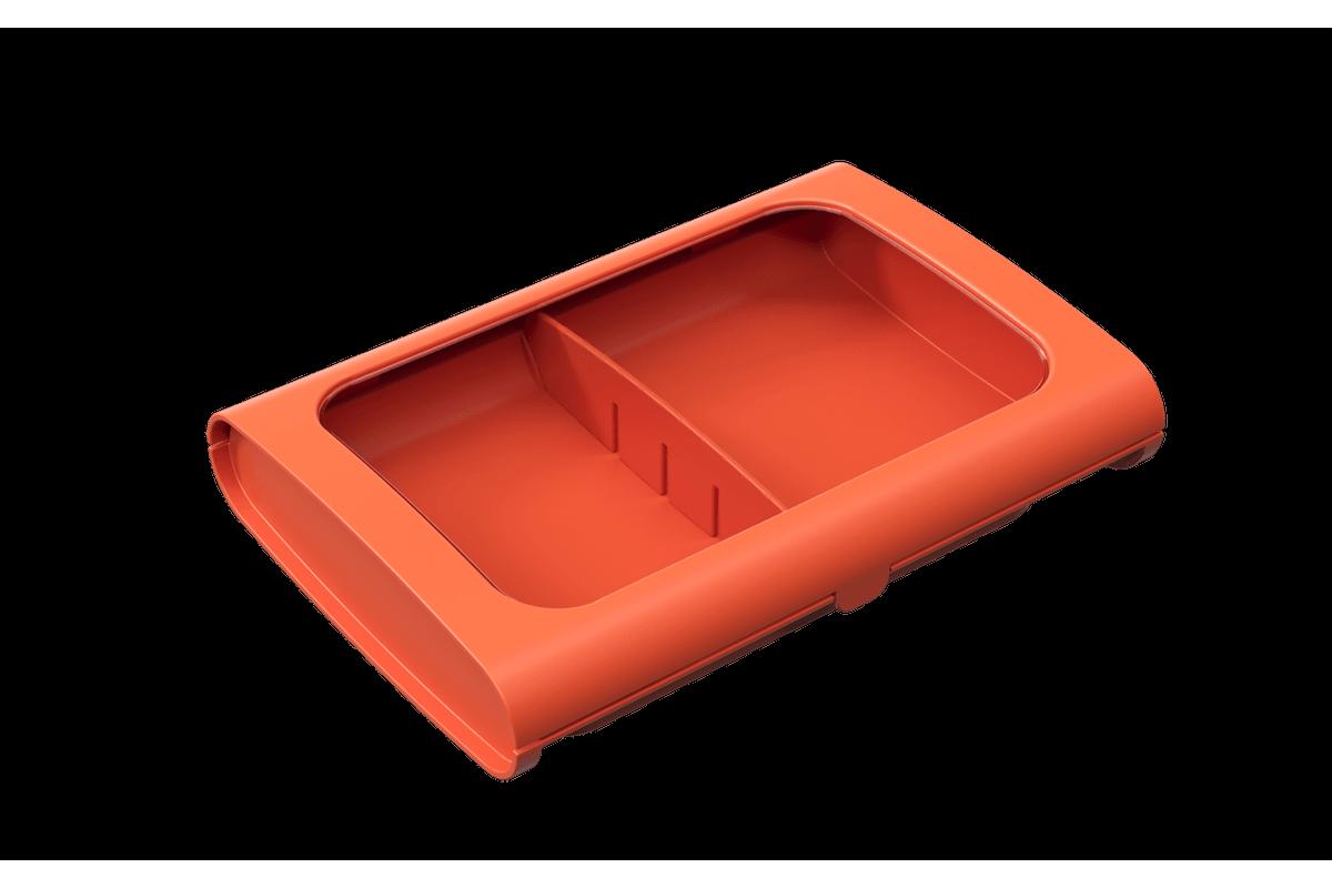 Porta-Frios Sem Pinça Casual 24 X 17 X 5 Cm Tangerina Coza