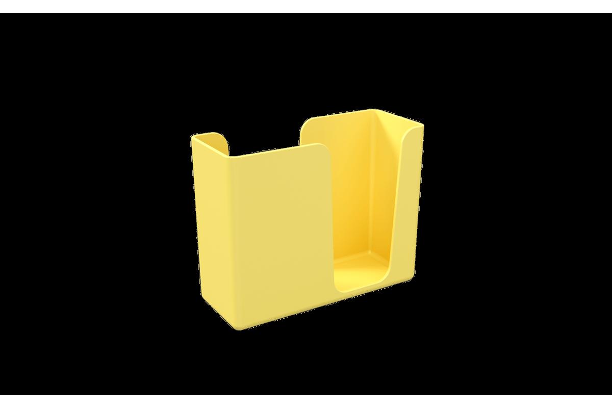 Porta Guardanapo Casual 13,6 X 5,3 X 10,4 Cm Amarelo Coza