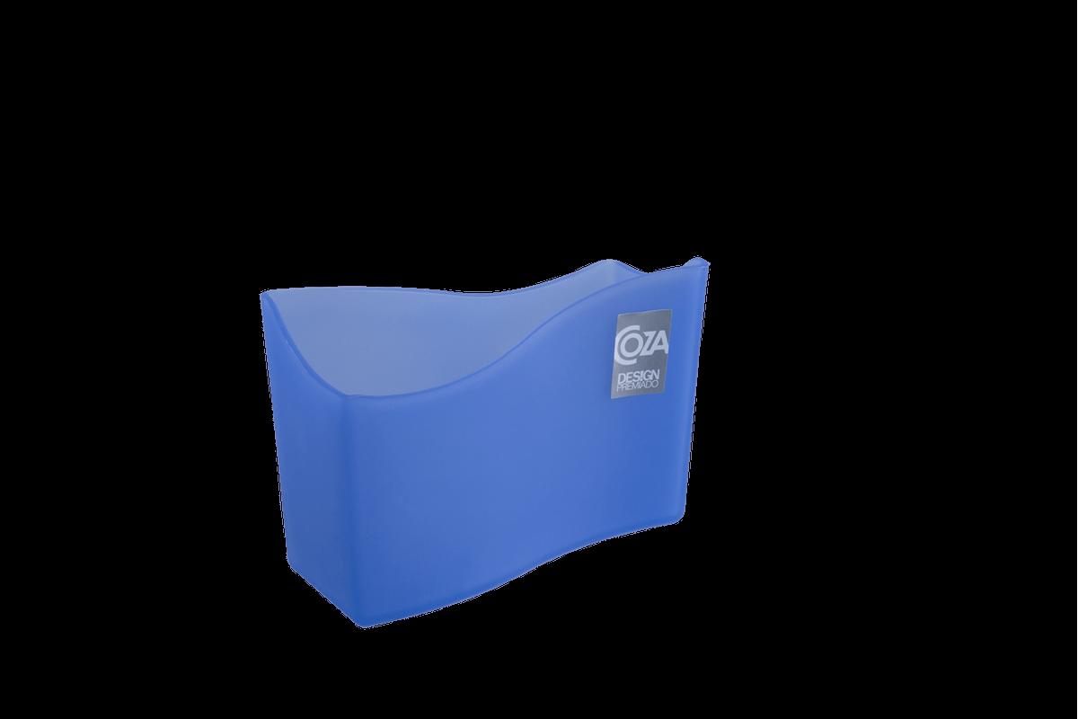 Porta Guardanapo Cozy 13,7 X 6 X 10 Cm Azul Coza