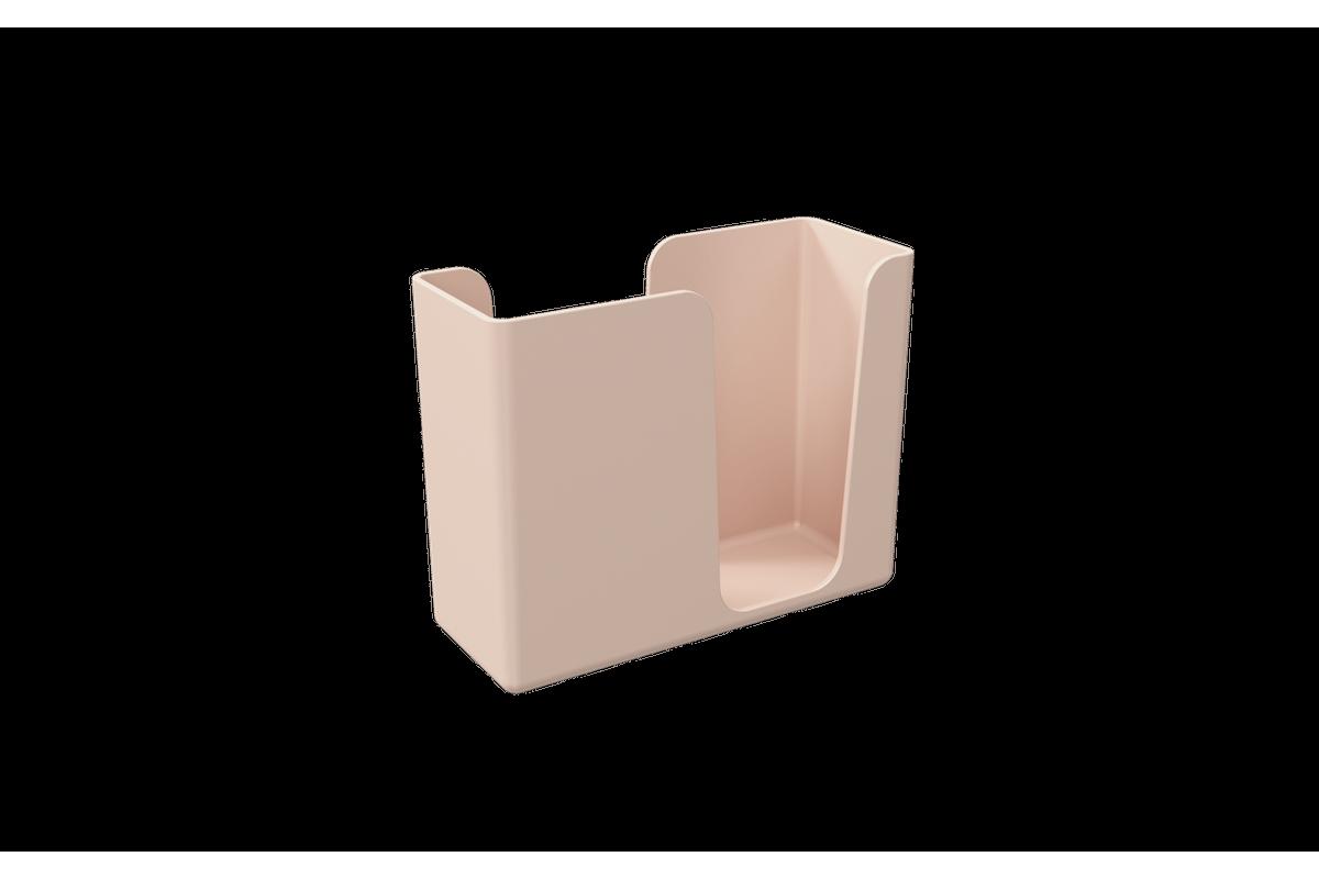 Porta-guardanapos Casual 13,6 X 5,3 X 10,4 Cm Rosa Blush Coza