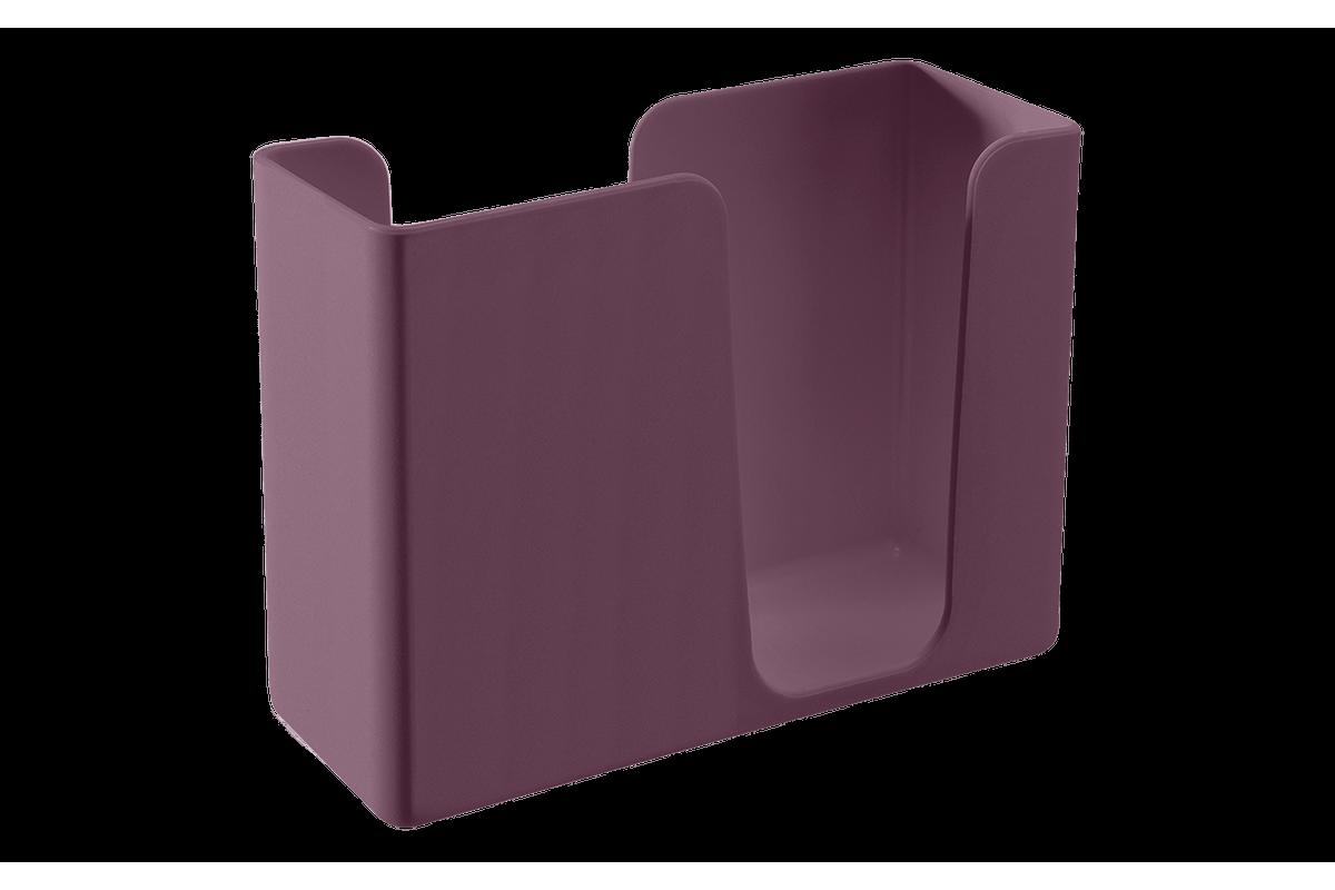 Porta-guardanapos Casual 13,6 X 5,3 X 10,4 Cm Roxo Púrpura Coza