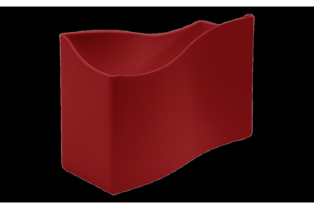 Porta-guardanapos Cozy Pequeno 13,7 X 6 X 10 Cm Vermelho Bold Coza