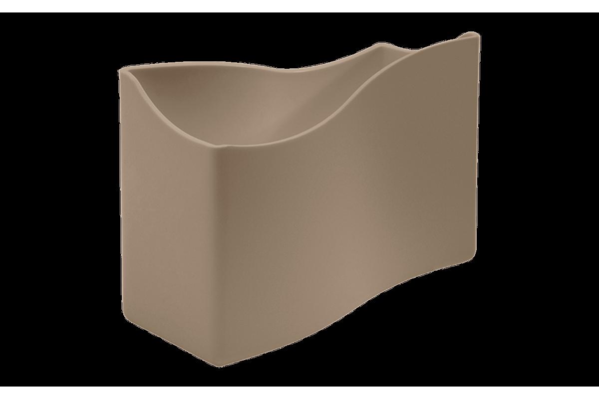 Porta-guardanapos Cozy Pequeno 13,7 X 6 X 10 Cm Warm Gray Coza